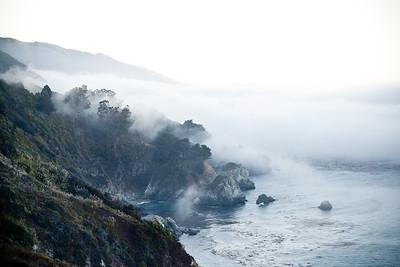 Big Sur fog