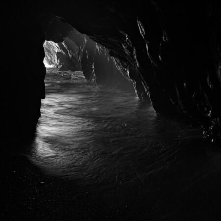 Ocean Tunnel - Mendocino Coast