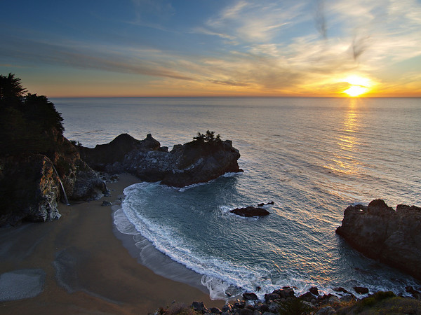 McWay Falls II - Big Sur Coast
