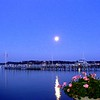 Moon Rise on Harbor