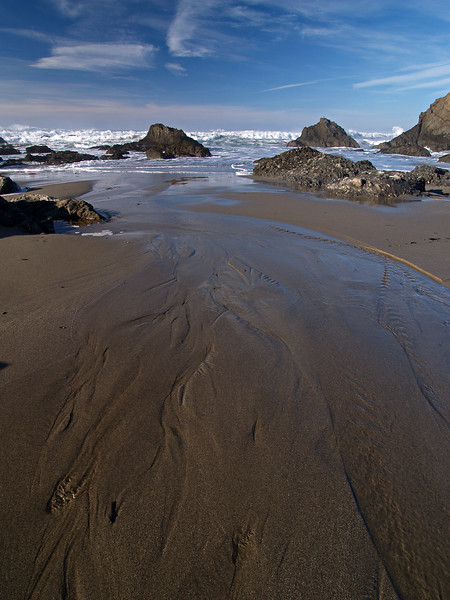 Fresh Meets Salt - Northern California Coast