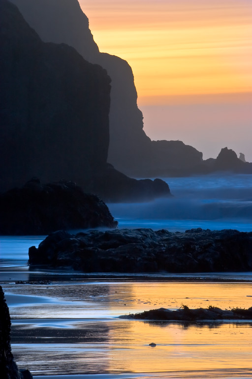 China Beach Sunset
