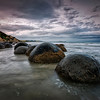 moeraki morning | otago coast, new zealand