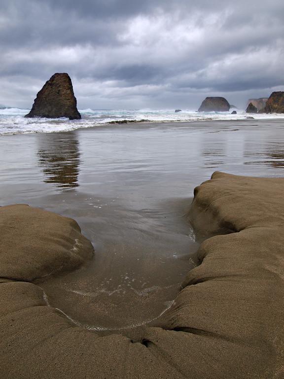 Seaside Creek Beach - Northern California Coast