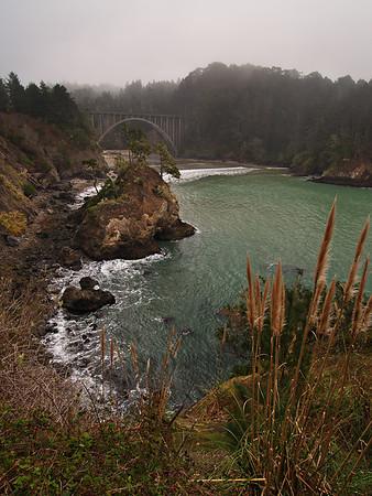 Russian Gulch - Mendocino Coast