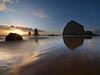 Twilight on Cannon Beach - Oregon Coast