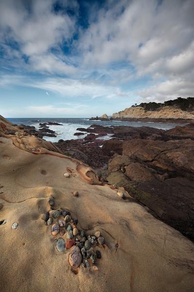 - Time Embedded -   Point Lobos, California coast