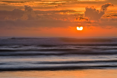 Sunset at Agate Beach, Oregon