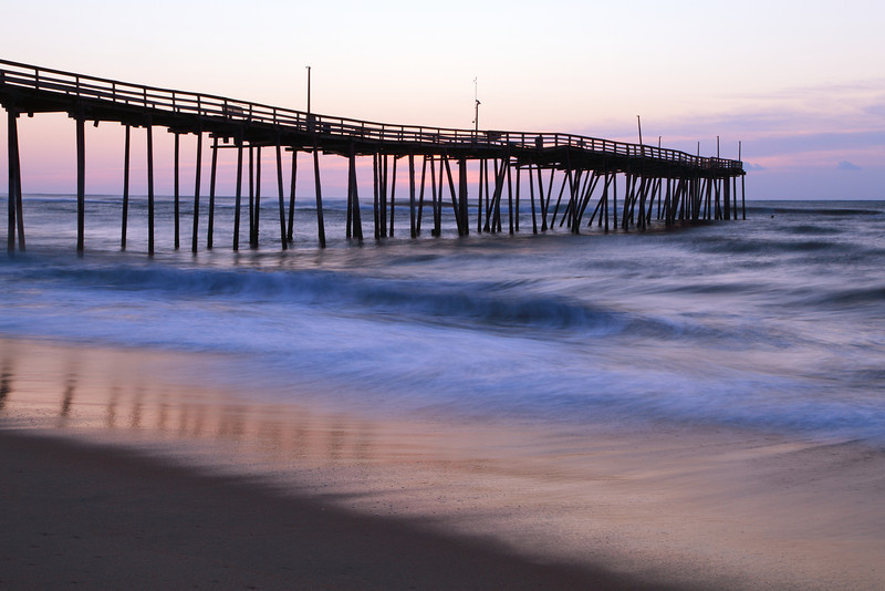 Fishing Pier at Dawn