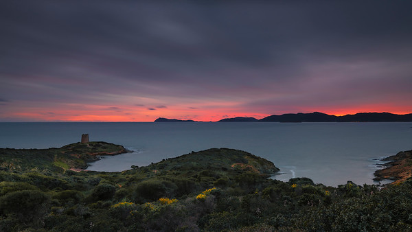 Sunset in Sardinia