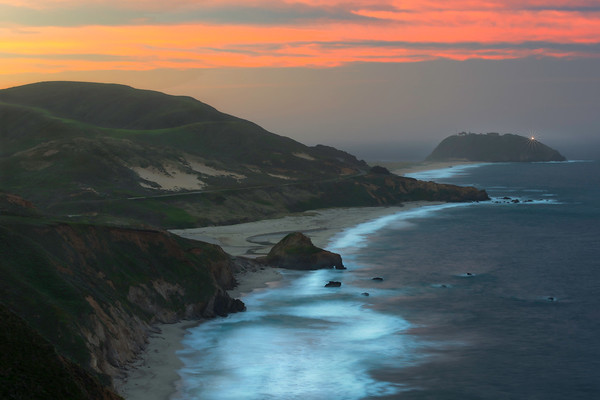 Dawn at Point Sur