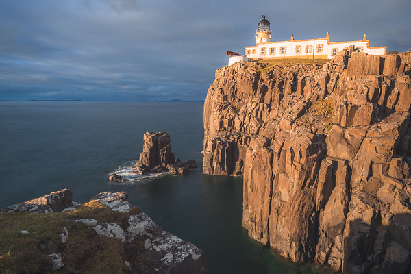 Neist Point Lighthouse. Isle of Skye, Scotland