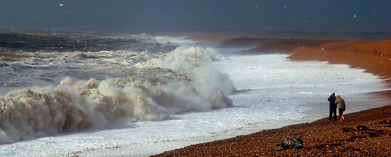 Chesil beach  uk