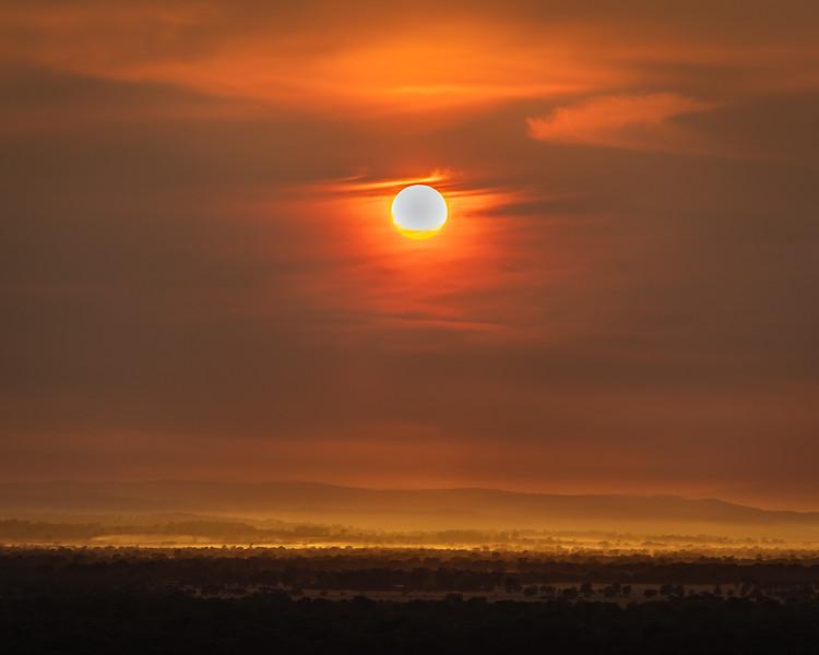 Smoke Haze Sunrise