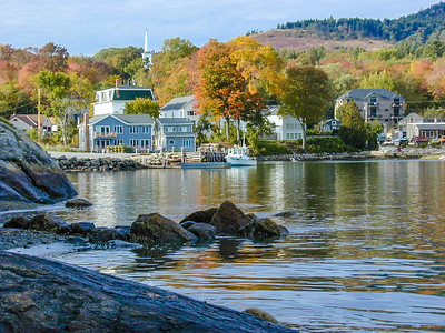 Blue Hill harbor