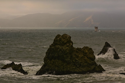 Lands End and Golden Gate Channel Marker