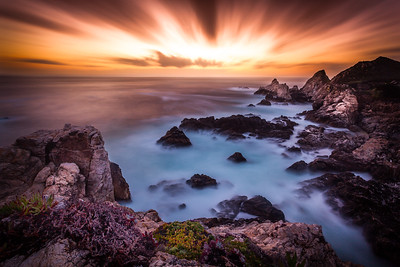 Rocky Point Blistering Sunset