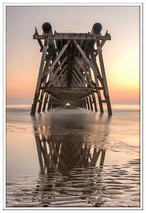 Steetley Pier Dawn