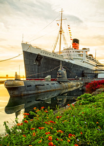 The Queen Mary and The Russian Submarine