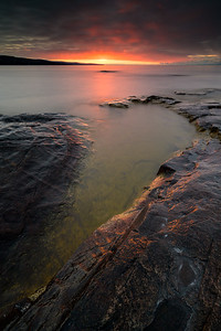Spring Sunrise over the Big Lake