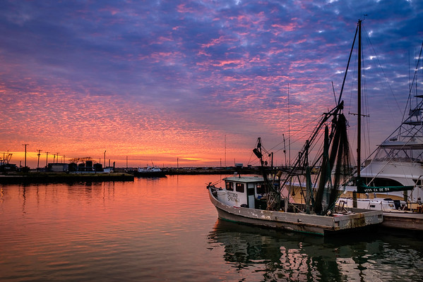 Shrimp Boat Sunset