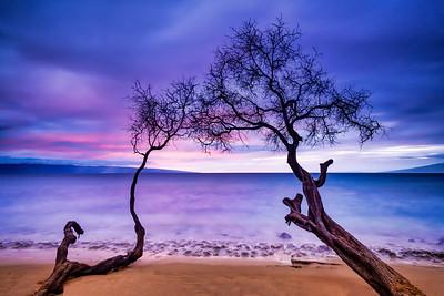 Kaanapali Beach Sunset, Maui, Hawaii