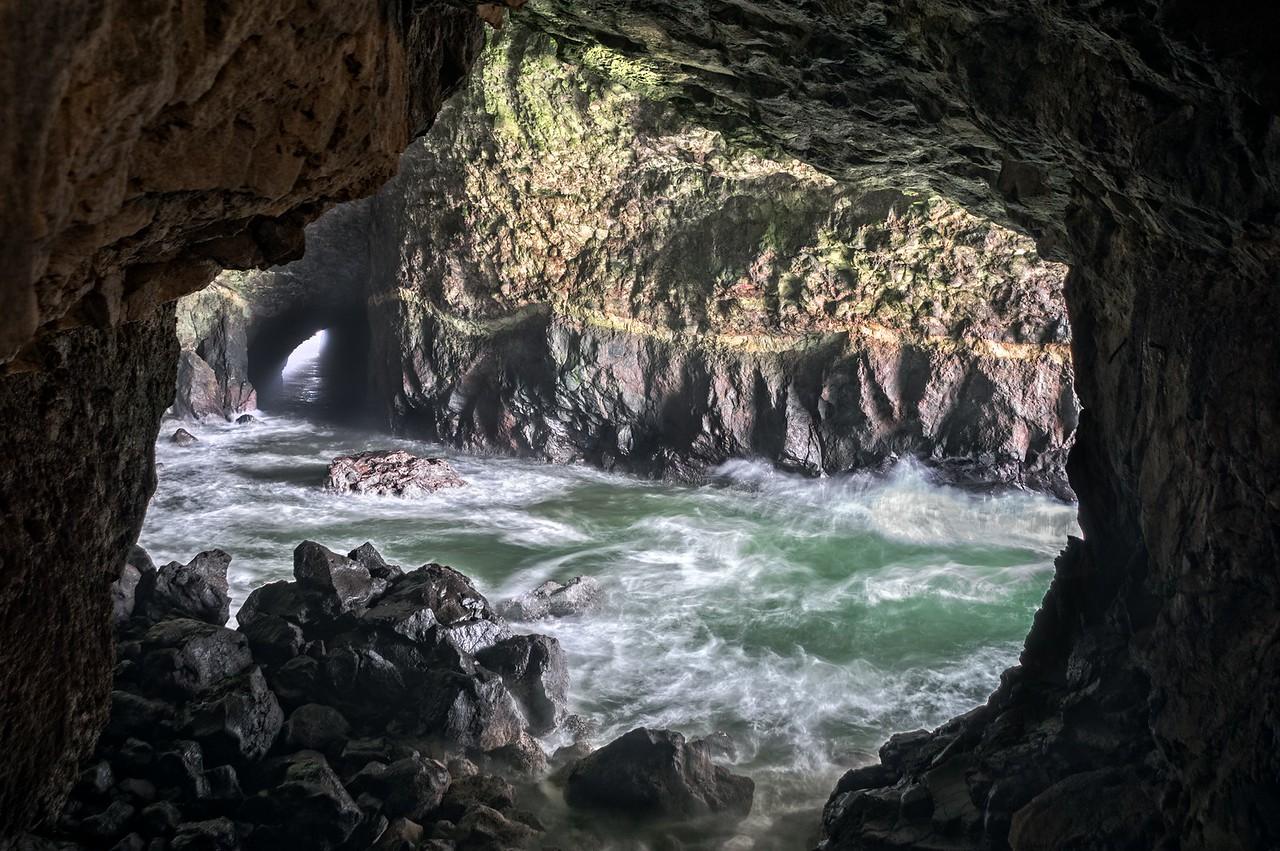 Sea Cave, Study 1, Oregon