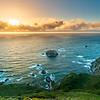 Big Sur Golden Sunset