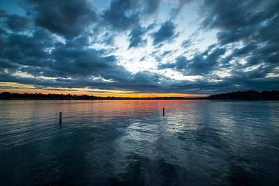 Lake Stevens sunset