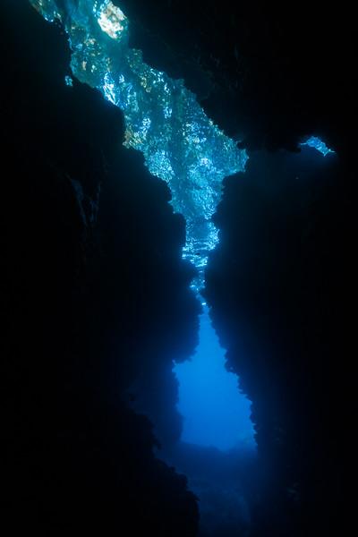 Split Cavern
