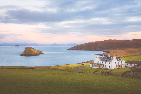Duntulm. Isle of Skye, Scotland