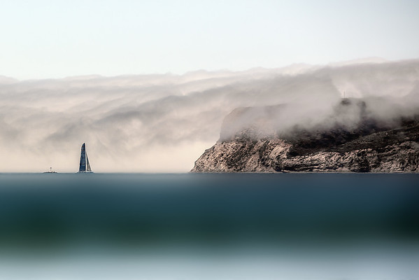 rolling fog sail