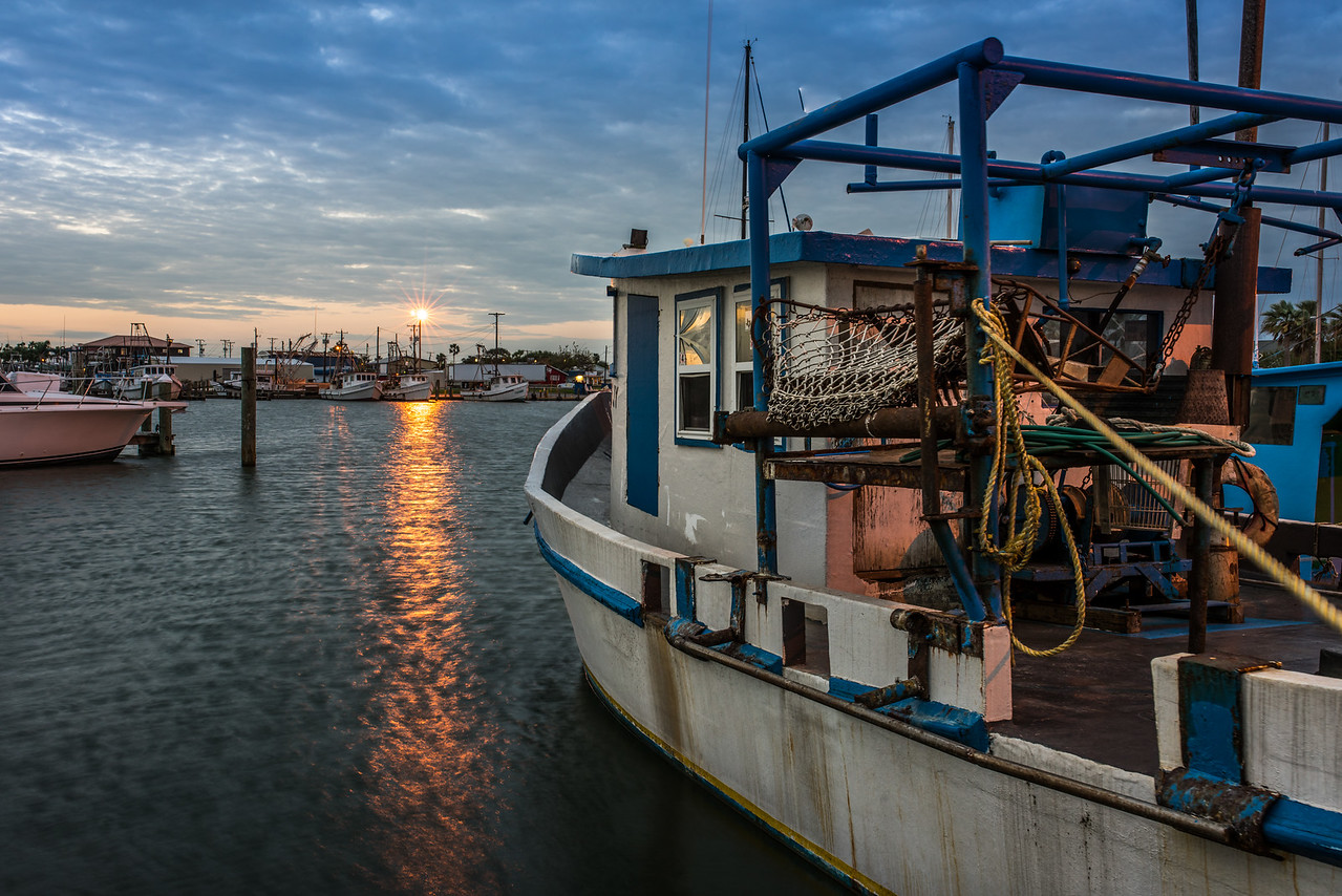 Early Morning Shrimp Boat