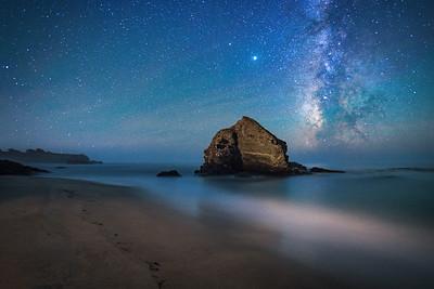 St Orres Beach & Milky Way, Gualala, California