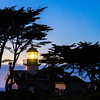 Point Pinos Lighthouse at Sunset no 1