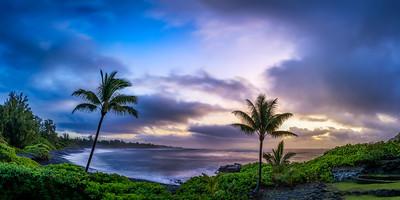Hana Cove Panoramic, Maui, Hawaii