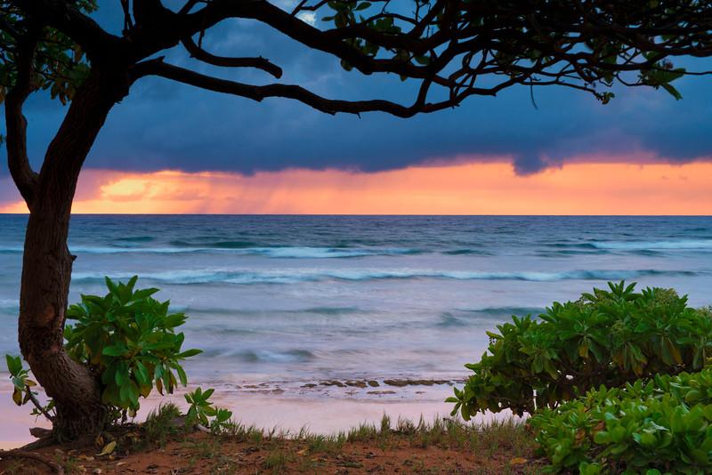 First light in Kauai