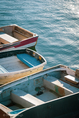 Boats at Rest in the Harbor