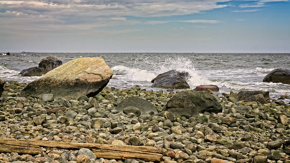 Breaking Waves at Hammonasset
