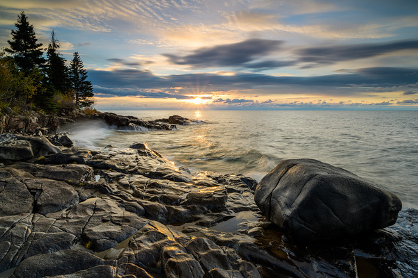Sunrise at the Rock Beach