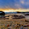 A Rainbow of Beach Stones