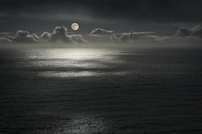 Moon & Sea, Sea Ranch, California