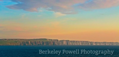 Dusk at the Cliffs of Moher