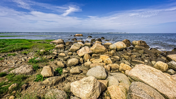 Rocky Seascape at Meigs Point Hammonasset