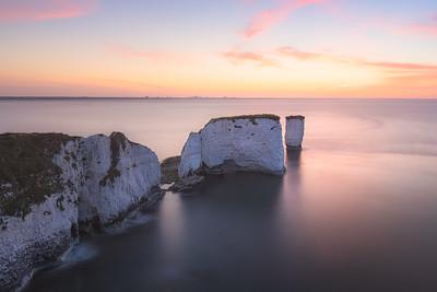 Old Harry Rocks. Dorset, England