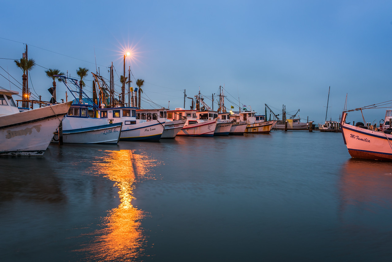 Aransas Bay Blue Morning