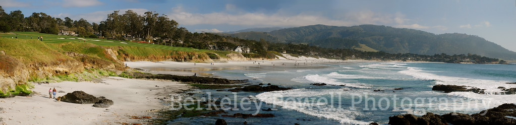 Pebble Beach Golf Course & Carmel Beach