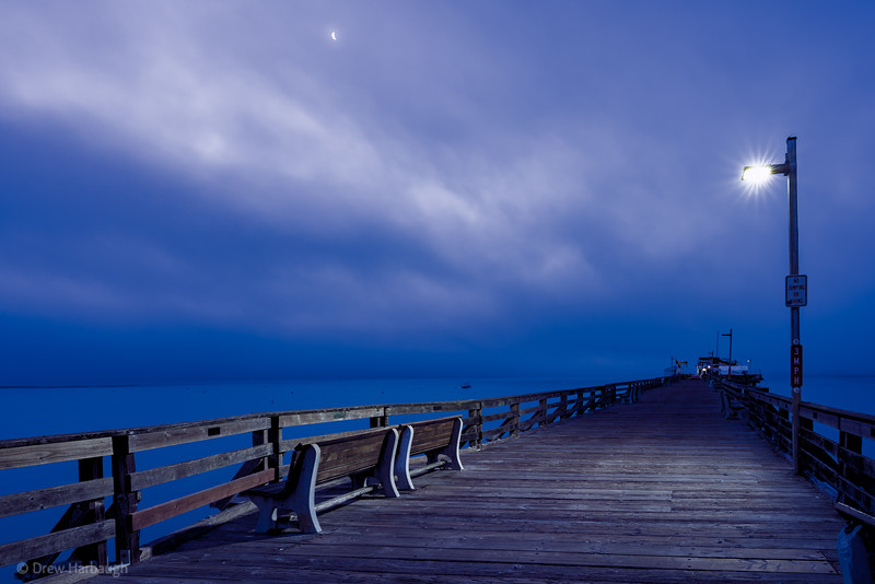Lonely Before Sunrise: Capitola Wharf