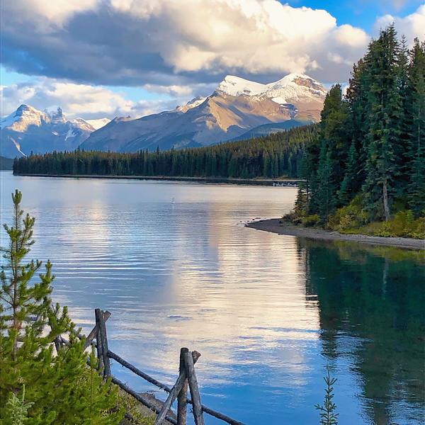 Jasper National Park waterscape