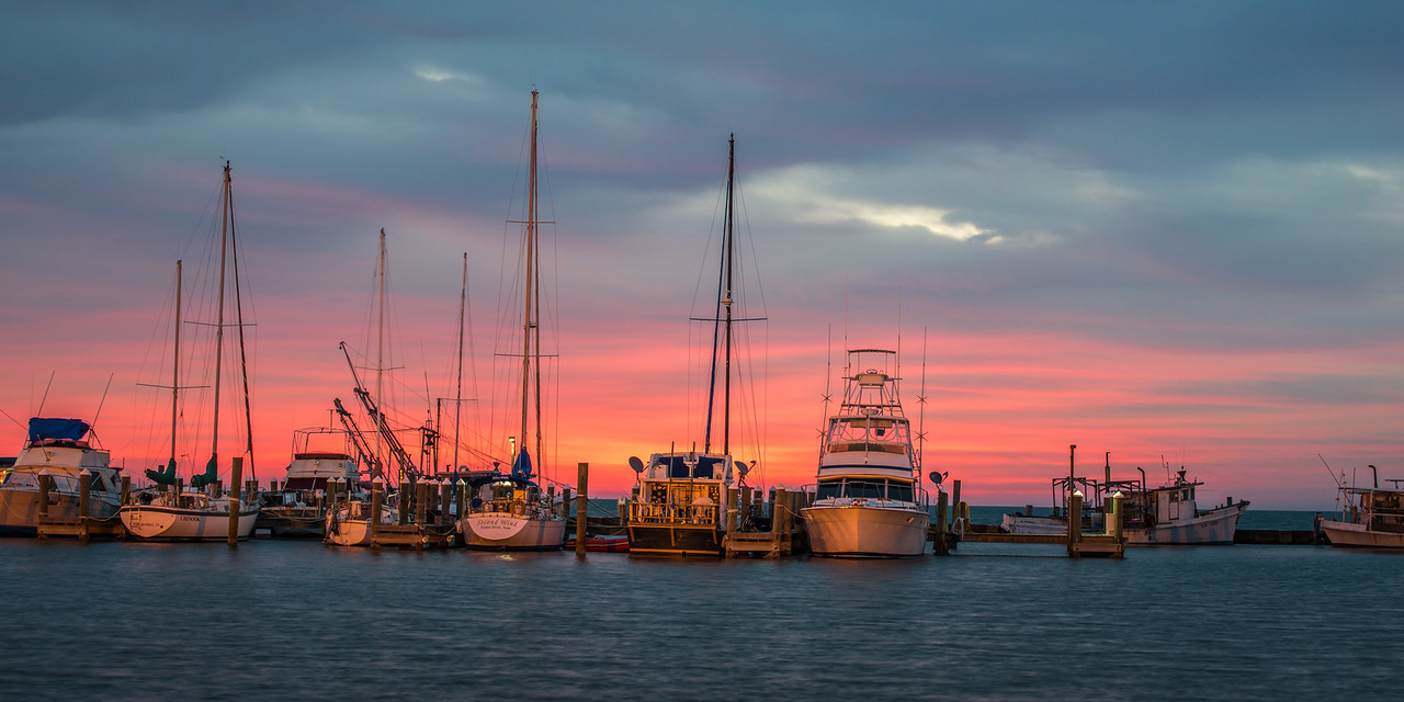 Aransas Bay Second Wind Sunrise